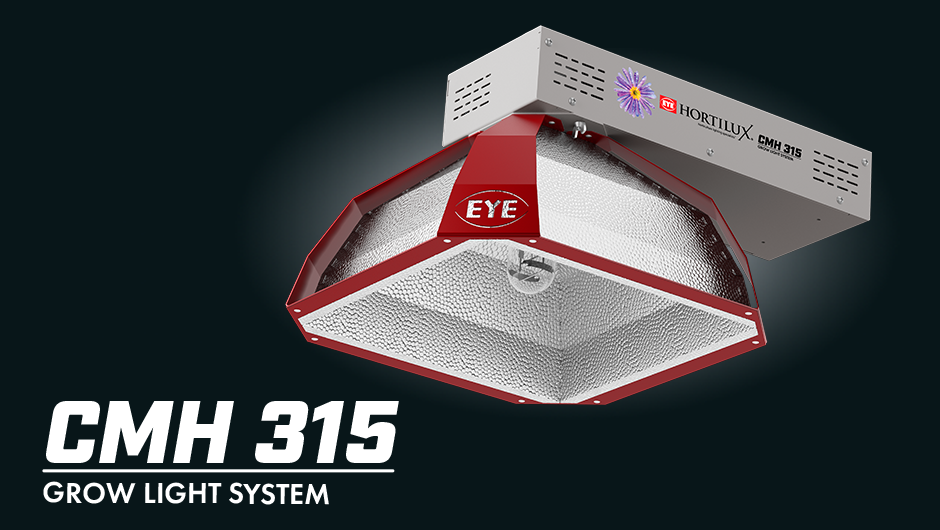 CMH 315 Grow Light System for better light intensity and uniformity